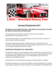 MSC Marchfeld  HISTORY TOUR 2019 am 29.9.2019